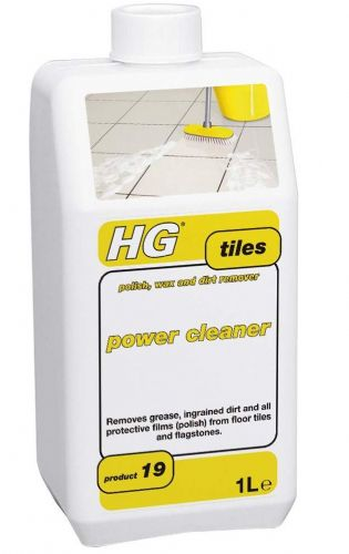 HG Tile Power Cleaner Removes wax polish & dirt 1 Litre Product 19